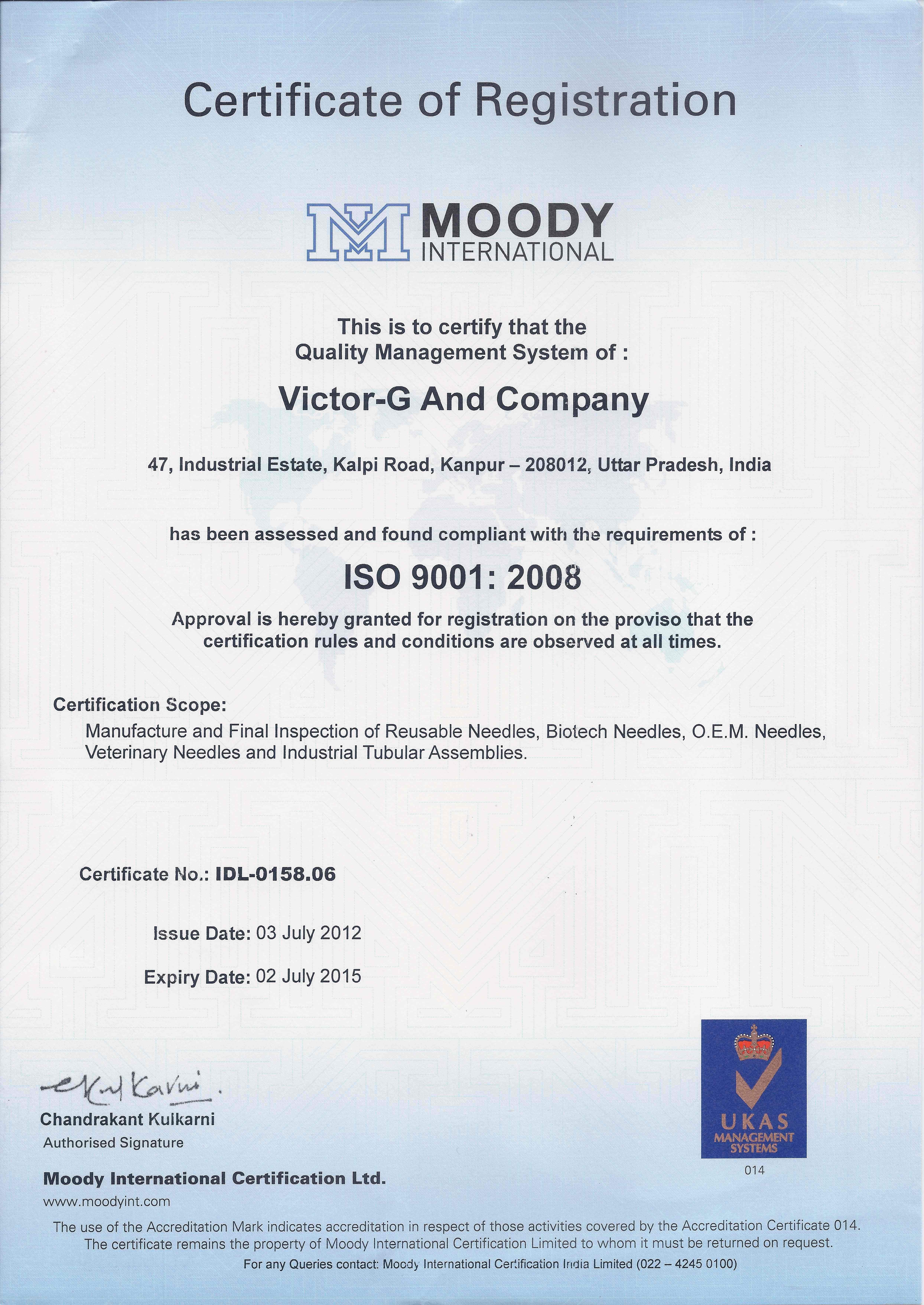 Iso 90012008 certificate for manufacture and final inspection of iso 90012008 certificate for manufacture and final inspection of reusable needles bio tech needles oem needles veterinary needles and industrial 1betcityfo Gallery